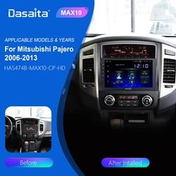 Dasaita-Radio Multimedia con GPS para coche, Radio con reproductor, Android 10, 9 pulgadas, estéreo, Carplay, para Mitsubishi Pajero V97, V93, 2006, 2007, 2008, 2009