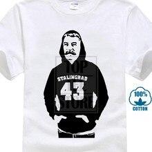 Joseph Stalin Mit Einem Stalingrad 43 Kommunismus Politic 2018 Harajuku T Hemd Männer Oansatz Kurze Sommer Trend