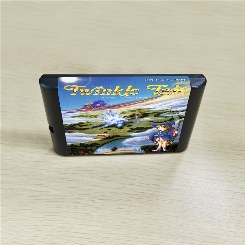 Twinkle Tale - 16 bit MD Games Cartridge For MegaDrive Genesis console image