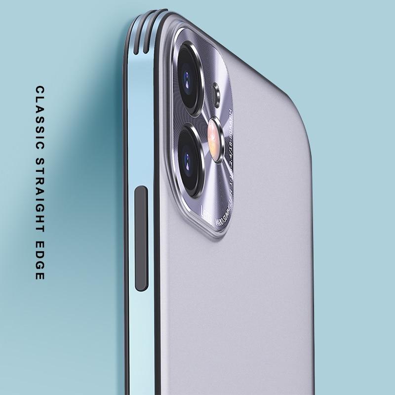 Luxury Matte Metal Case For iPhone 11 12 Pro Mini Max 1