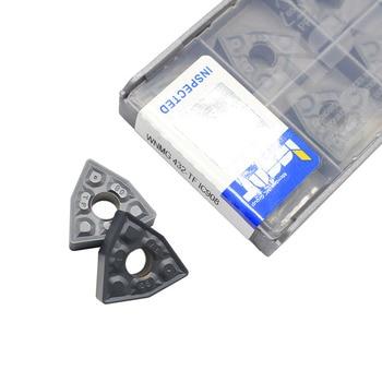 20PCS WNMG080408 TF IC908 External Turning Tools Carbide Insert Lathe Cutter Tool Tokarnyy Turning Insert free shipping external turning tool holder dwlnr lathe cutter dwlnr2020k08 dwlnr2525m08 for turning insert wnmg080408 nicecutt