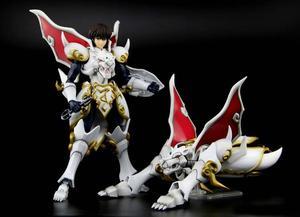 Image 3 - Figuras de acción de COMIC CLUB, juguetes en stock, Dasin TenKuu, Senki, Shurato, Kuroki, Gai, Leiga, nordina, armadura de metal