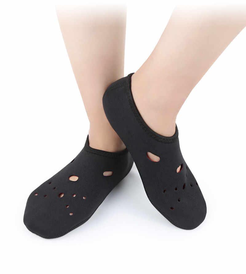 Neopren Kısa Plaj Çorap kaymaz Antiskid Tüplü Içi Boş Dalış Botları Dalış Çorap Yüzme Yüzgeçleri Flippers Wetsuit Ayakkabı