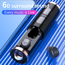 mini wireless headsets bluetooth 5.0 earphones 6D stereo HiFi Gaming earbuds with mic sports headphones for iphone xiaomi phones