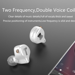 Image 5 - TFZ S2 PRO Dynamic Driver Hybrid In ear Earphones HIFI Monitor Earbuds Earphones Detachable 0.78mm PIN T2 KING S7 S3 NO.3 KING