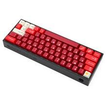 Poseidon boîtier en Aluminium anodisé PSD60, pour clavier mécanique personnalisé, noir, gris, bleu, rouge, pour gh60, xd60, xd64