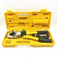 Tubo PEX hidráulico de aluminio tubo de plástico herramienta de engarzado para tubos CW 1632 calefacción tubo de tubería de presión de abrazadera de tubo de 10T|hydraulic pipe crimping tool|pipe crimping tool|hydraulic crimping tool -