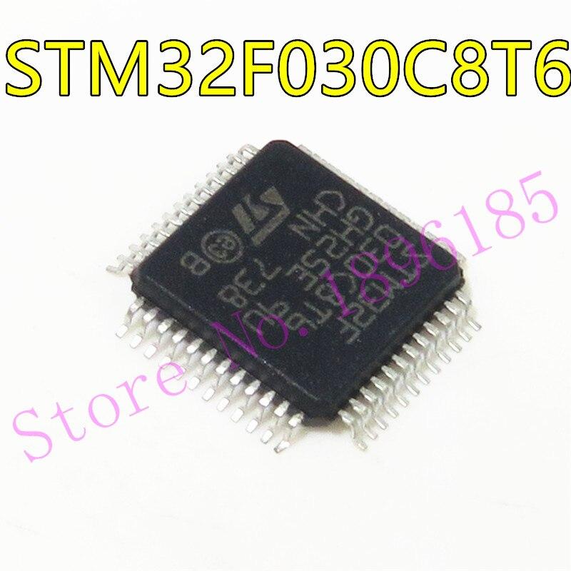 1 adet/grup yeni orijinal STM32F030C8T6 STM32F030 32-bit mikrodenetleyici 48MHZ LQFP-48 IC çip