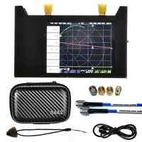 Antena del analizador de espectro de onda corta, analizador de red de Vector 3G, pantalla LCD Digital para S-A-A-2 NanoVNA V2 HF VHF UHF