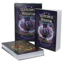 48Pcs/pack Witches Wisdom Oracle Cards English Deck Game Cards Stunning Mysterious Deck Witches Tarot Card Party Games(China)