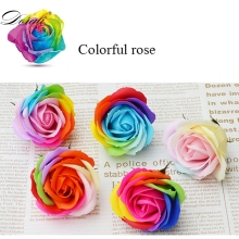 16PCS/Box Soap Floral Gift Flower Petal Artificial Rose Decor Ornament Party Valentine'S Day Decorating Holding Flowers