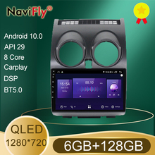 NaviFly 6GB+128GB 8 Core QLED 1280*720 Carplay Android 10.0 Car Navigation GPS Radio