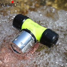 YUPARD XM-L2 led 30m T6 Diver Diving Waterproof underwater Headlamp Headlight bicycle light 3xAAA 1x18650 battery camp