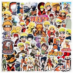 53Pcs NEW Cartoon Anime NARUTO Stickers Cool Pegatina DIY Skateboard Suitcase Guitar PVC Graffiti Sticker Children Classic Toys