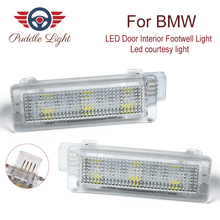 2PCS Car LED Footwell Door Courtesy Interior Light For BMW F01N/F02N/F03N F30 F31 F32 F34 F10LCI F11 LCI  CAR Styling for bmw e90 e92 e93 f20 f21 f30 f31 f32 f33 f34 f15 f10 f01 f11 f02 g30 m performance side skirt sill stripe body decals sticker