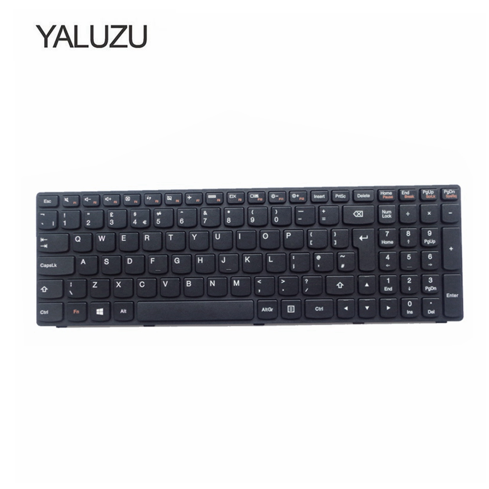 YALUZU UK New Laptop Keyboard For LENOVO G500 G510 G505 G700 G710 G500A G505A G510 G700A G710A G500AM G700AT