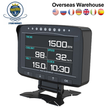 AUTOOL – compteur de vitesse X50 Pro, affichage tête haute 12V, affichage HUD OBD2, voltmètre, détection de défauts, capteur de température, ordinateur de bord