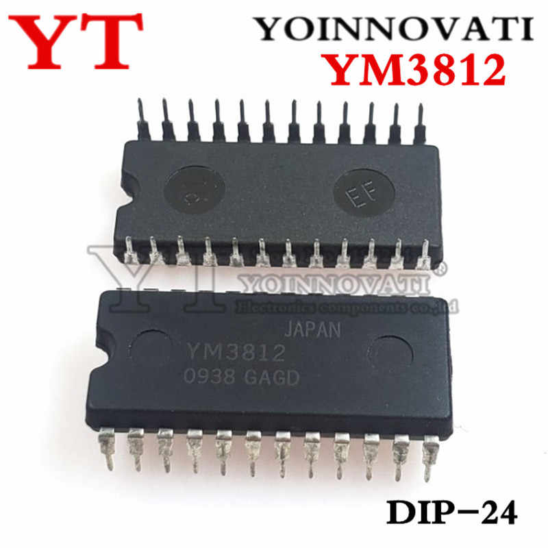 5 pcs/lots YM3812 3812 DIP-24 IC