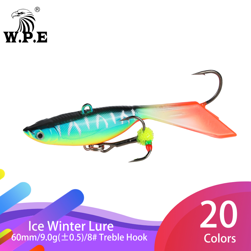 5 Pcs Artificial Fishing Lures Ice-fishing Lure Fishing Bait Fishing Tackle