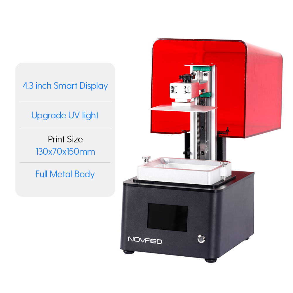 NOVA3D Bene4 3D Drucker Hohe Qualität 2020 Neue LCD 405nm 3D Drucker Licht Aushärtung Metall 3D Drucker Creality Hohe Präzision