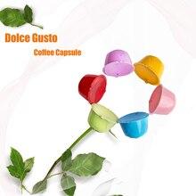 Многоразовая кофейная капсула nescafe Dolci Gusto, пластиковый кофейный фильтр, капсула для dolcegusto EDG 466 и мини-Кофеварка
