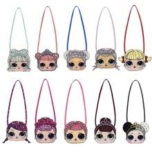 LOL surprise dolls оригинальная сумка mochila маленькая мультяшная сумка на одно плечо модный милый повседневный рюкзак для девочки в подарок 50 см