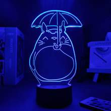 Anime Figure My Neighbor Totoro Night Lamp For Kids For Home Gift To Girlfriend Manga Led Night Light Decoration Bedroom Anime D