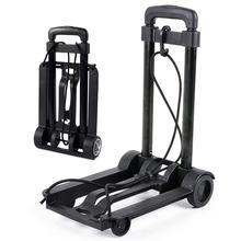 Hand-Truck Cart Luggage Wheels Lightweight Folding Moving Portable Heavy-Duty with Telescopic
