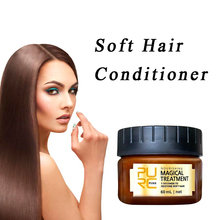 60ml Hair Mask Magical Keratin Treatment Molecular Roots Scalp Care Return Bouncy Conditioners NEW