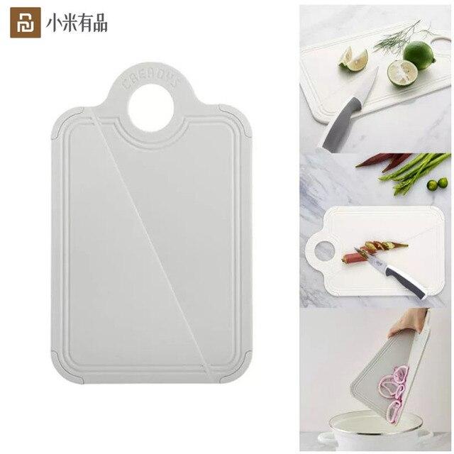 Youpin dobrável placa de corte de grau alimentício pp proteção ambiental cozinha placa de corte do agregado familiar mini placa de corte de frutas