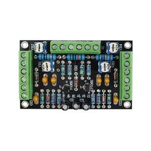Image 2 - GHXAMP 6E2 고양이 눈 튜브 표시기 드라이버 보드 키트 듀얼 채널 형광 레벨 표시기 드라이브 증폭기 DIY 수정