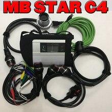 Mais novo de alta qualidade mb estrela c4 interface sd conectar estrela diagnóstico das sistema compacto 4 multiplexer para bens diag ferramenta