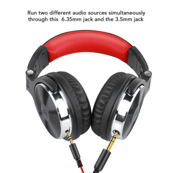 Oneodio DJ Headset Gaming With Microphone Phone PC Wired Over-ear Hifi Studio DJ Headphone Professional Stereo Monitor Urbanfun 3
