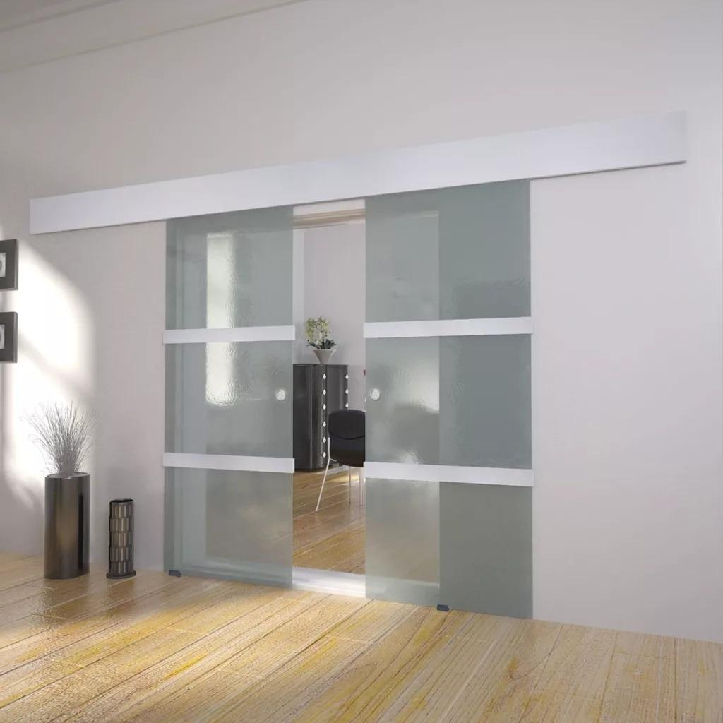 VidaXL Double Sliding Door Glass 273735