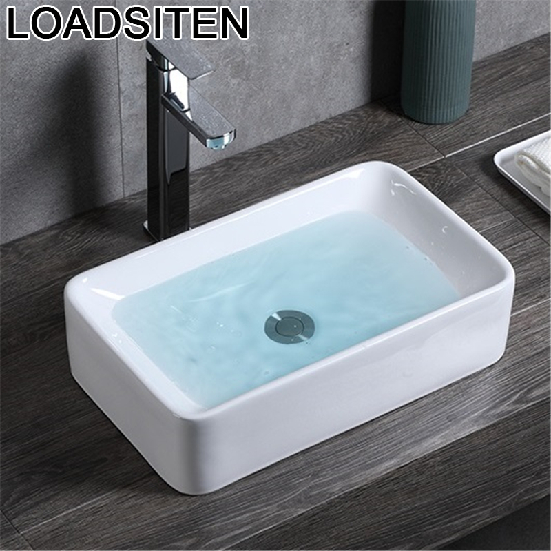 Salle De bain bol Lavabo Banyo Evier Lavatorio Para Fregadero Bagno De Mano Umywalka Pia Lavabo Cuba Banheiro Lavabo Lavabo