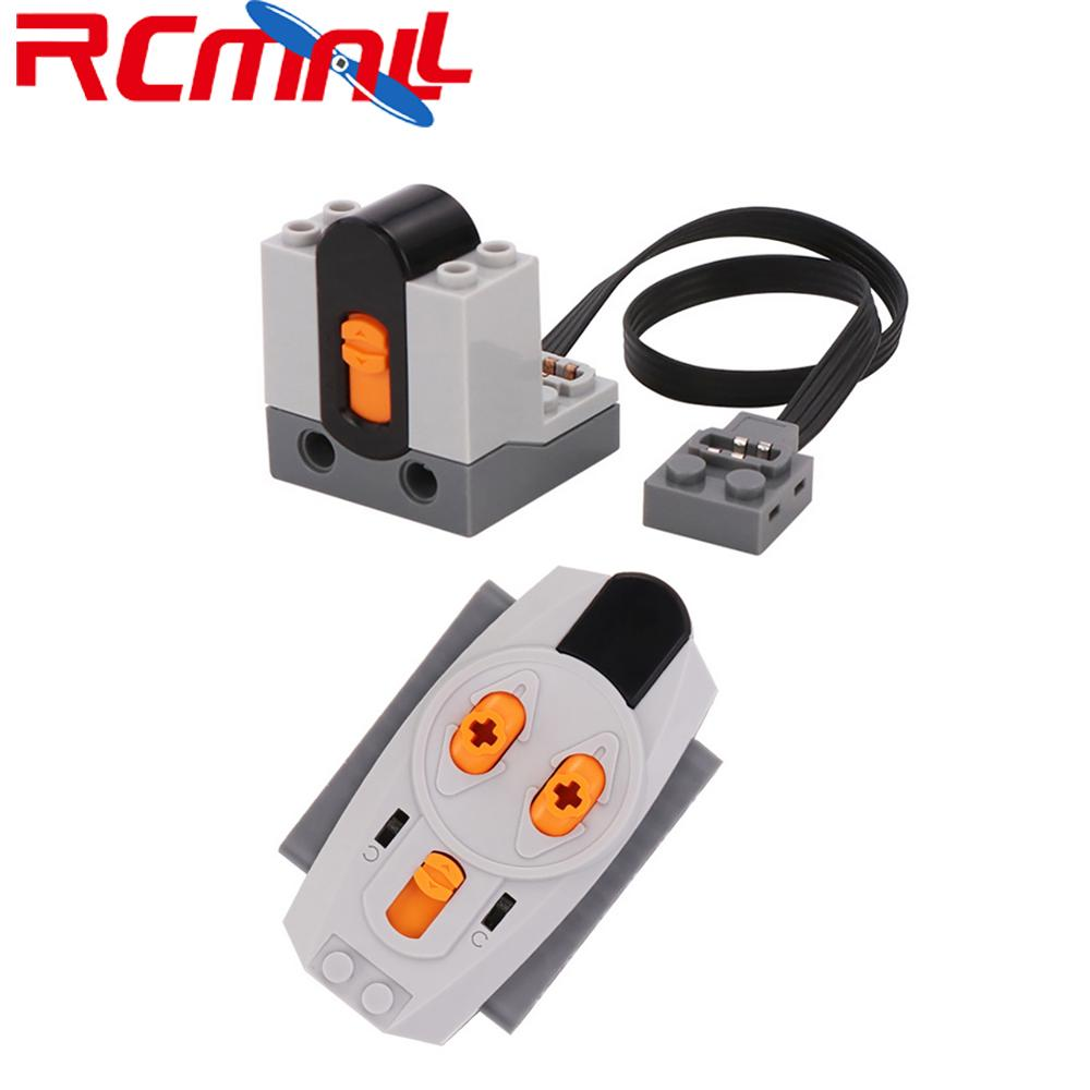 2.4G Receiver+2.4G Remote Control For Lego Legoeds Technic Parts Multi Power Functions, For Kids DIY