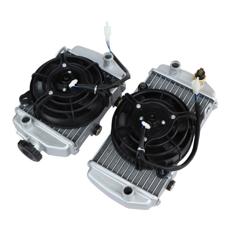 Zongshen 4 клапана NC250 с водяным охлаждением 250cc радиатор двигателя xmotos apollo коробка для воды с вентилятором Аксессуары для мотоцикла KAYO BSE