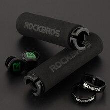 Sponge-Handlebar-Grips Bike-Grips MTB Shock-Absorbing Anti-Skid ROCKBROS Soft Silicone