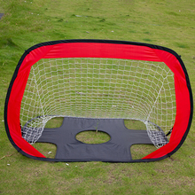 цена New Folding Soccer Football Goal Net Portable Black Training Goal Net Tent Kids Indoor Sports Play Toy Outdoor Soccer Door Set онлайн в 2017 году