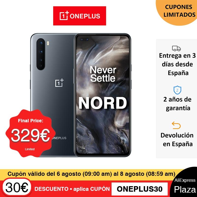 Versión global OnePlus Nord 5G Smartphone Snapdragon 765G 8GB 128GB 6.44