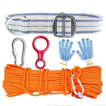 Super sell-Camnal Kane Family Emergency Reserve Lifeline Fire Survival Rope Rope Set Descending Rope