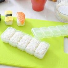 Mold-Maker Bento-Tool Sushi Non-Stick-Press Nigiri-Rice-Ball Kitchen Plastic Japan 5-Rollsaccessories