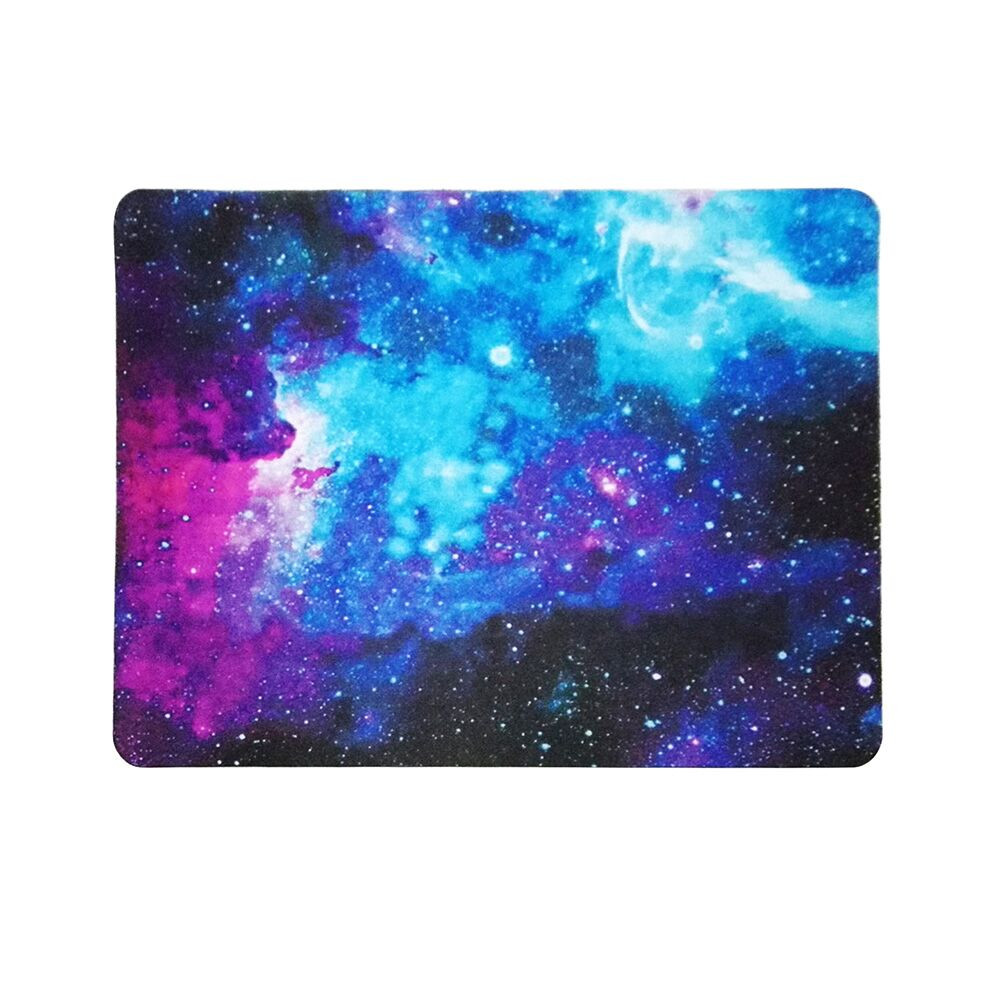 Ouhaobin Rubber Mouse Pad  Gaming Mouse Pad For PC Laptop Muismat Desk Galaxy Rectangle Non-Slip Rubber Mousepad