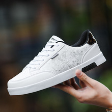 High Quality Brand Men Casual Shoes Hot sale Spring Autumn Red White Shoes Men Casual Breathable Fashion Casual Men Shoes Black