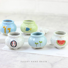 Succulent Flower Pot Home Planting Plant Potted Creative Thumb  Planter
