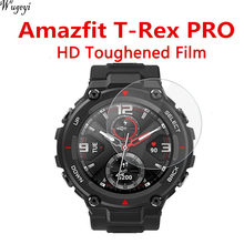 For Huami Watch Amazfit T-Rex A1918 Tempered Glass T-Rex Pro Blue Light Eye Protection Film Watch Films