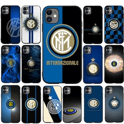 Inter Club Mobile TPU Soft Phone Case for iPhone 5 5s 6 6s 7 8 Plus X XS XR XS Max 11 Pro Max SE 2020 12 mini 12 pro max Cover