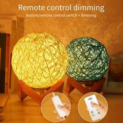 Creative Ins lampe de Table chambre chevet LED veilleuse fille petite lampe lune enfant ciel étoilé projecteur rêve sommeil nuit lampe