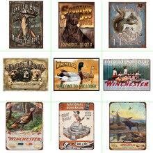 Shabby Chic Cartel Metalico Vintage Animal  Farmhouse Home Decor