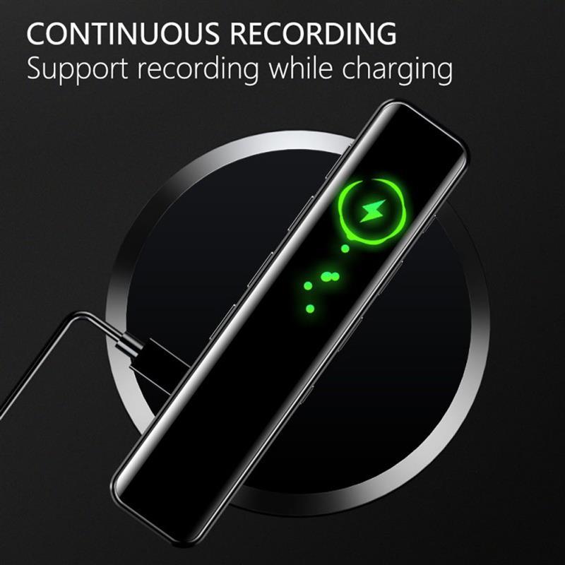 Mini gravador de som de áudio claro